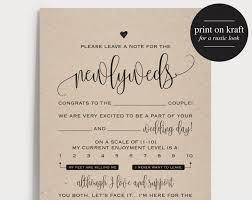 bridal mad libs wedding mad libs mad lib printable wedding advice mad lib