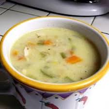 day after thanksgiving turkey and rice soup food