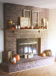 white brick fireplace mantel ideas red pictures modern decor