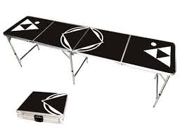 beer die table for sale amazon com 8 beer pong table lightweight portable with