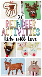 20 reindeer activities for kids