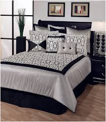 bedroom black wall design back in black white canopy bed cool
