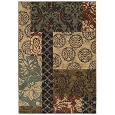 Home Design 7 X 10 Home Decorators Collection Finley Patchwork Multi 7 Ft 10 In X
