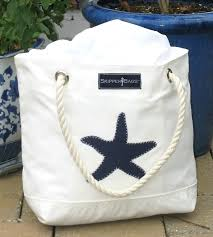 nautical bags navy blue starfish nautical tote bag nautical anchor tote