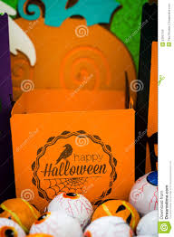 Halloween Crafts Paper Halloween Halloween Crafts Paper Crafting Stock Photo Image