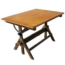vintage wood drafting table hamilton drafting table home decorating ideas