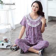 pajamas for sleepwear cotton sleeve pyjamas trousers