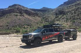 nissan titan 2018 the nissan titan xd pro 4x project basecamp overland we see it in