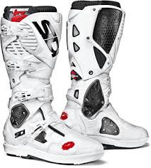 white motorbike boots sidi motorcycle motocross boots los angeles outlet prices