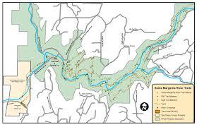 santa map santa margarita river trails map fallbrook trails council