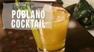 poblano cocktail at jade bar local flavor food network food