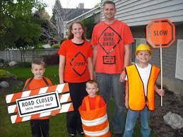 Scooby Doo Halloween Costumes Family Family Halloween Costume Road Construction Halloween