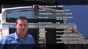 new kenworth for sale 2012 kenworth t909 for sale youtube