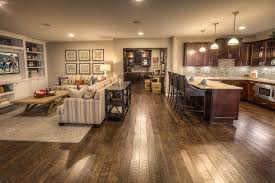 open kitchen and den ideas upscale down in the basement ideas