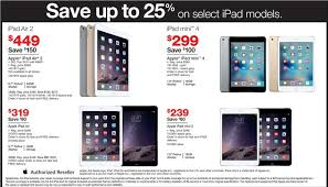 target black friday deal ipad pro best black friday 2015 sales for apple ipad air ipad mini tablets