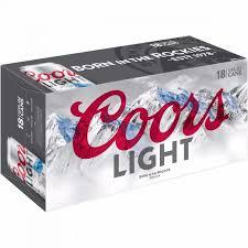 Coors Light 18 Pack Can Mesa Liquor