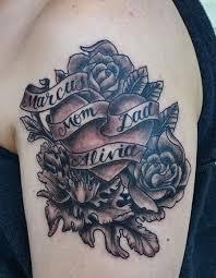 jeff johnson tattoo tattoos flower vine garys heart with