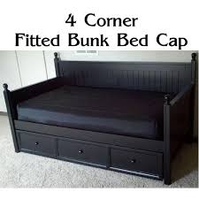 4 corner fitted bunk bed cap comforter fitted daybed cover