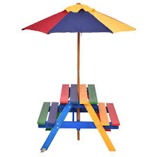 childrens bench and table set 74 kids umbrella table little tikes easy store jr table with