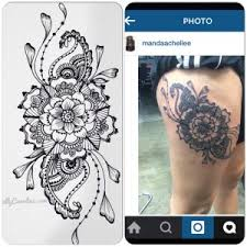 5 henna tattoo inspired tattoos mandalas and unique flower