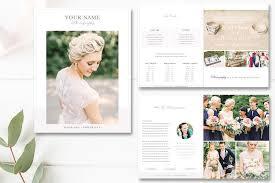wedding magazine template wedding photography magazine template photography price list