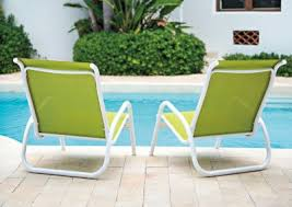 Poolside Chair Aluminum Sling Redbarn Furniture