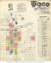 map waco sanborn maps of perry castañeda map collection ut