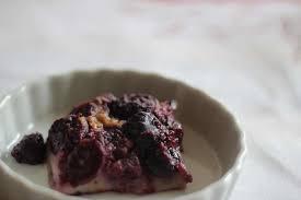 recette cuisine de nos grand mere recette clafoutis aux cerises et à la vanille de ma grand mère