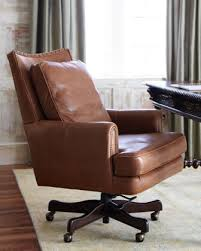 Leather Office Desk Chair Awesome Leather Desk Chairs Contemporary Liltigertoo