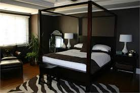Contemporary Canopy Bed Brown Canopy Design Prepossessing Brown Canopy Bed Contemporary