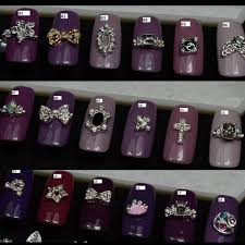 nail designs with gemstones images nail art designs
