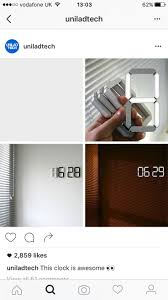 Cool Digital Wall Clocks 10 Best Products I Love Images On Pinterest Cool Stuff Projects