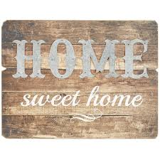 home wall decoration wood home sweet home metal wood wall decor pier 1 imports