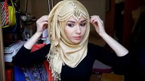 tutorial hijab nabiilabee hijab tutorial l eid youtube