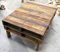 tables made out of pallets coffee table pallet wood coffee table made from pallets plans for