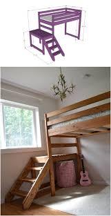 creative ideas diy camp loft bed with stairs i creative ideas