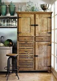 rustic kitchen furniture how to build a beautiful rustic pallet cabinet construction by