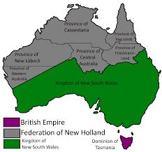 Tasmania Flag Dominion Of Tasmania The Hanseatic Republic Alternative