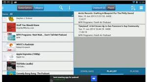 podcasts player for android top best podcast apps for android 2013 heavy