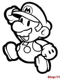 mario bros 104 video games u2013 printable coloring pages