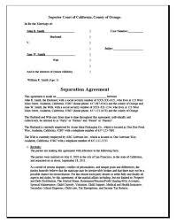 divorce worksheet u0026 separation agreement divorce source