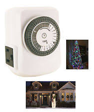christmas light timer ebay