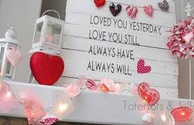 terrific colourful valentine day mantel ornament concepts ideas