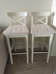 best ikea ingolf bar stools for sale barely used and comes with