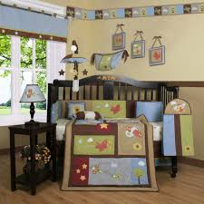 Nursery Bed Sets by Bedding Vintage Airplanes Blue Piece Crib Bedding Set By Thro