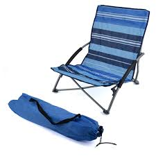 Collapsible Camping Chair Low Folding Lightweight Fishing Beach Camping Outdoor Chair