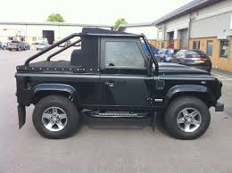 lifted land rover defender tonneau conversion for land rover defender svx convertible pick up