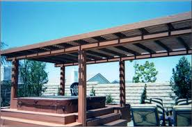 Free Patio Cover Blueprints Free Standing Patio Cover Designs Plans