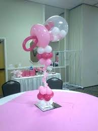 balloon centerpiece ideas baby shower balloon centerpiece ideas decor fiestas y baby