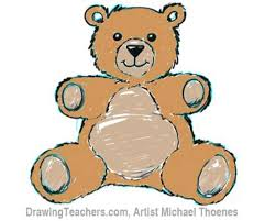 draw teddy bear